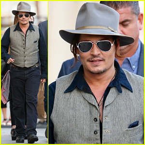 Johnny Depp & His Band Face Scorching Temperatures for 'Jimmy Kimmel Live!' Performance