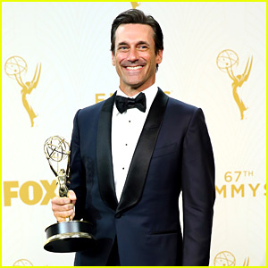 Jon Hamm Thanks Ex Jennifer Westfeldt During Emmys Acceptance Speech (Video)