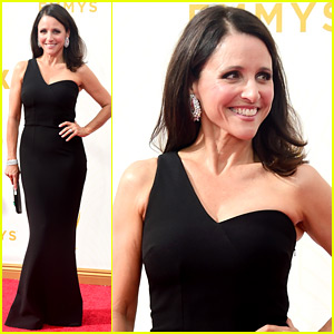 Julia Louis-Dreyfus & Her 'Veep' Co-Stars Arrive for Emmys 2015!