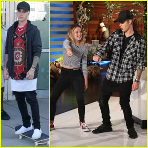 Justin Bieber Dances the Nae Nae With a Fan on 'Ellen' (Video)