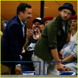 Justin Timberlake & Jimmy Fallon Do 'Single Ladies' Dance at U.S. Open 2015 - Watch the Video!