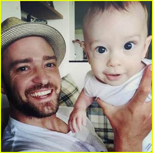 Justin Timberlake Shares Rare & Cute Photos of Son Silas!