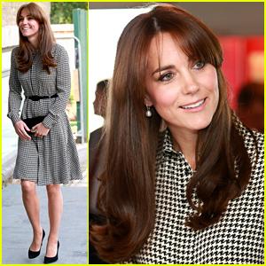 Kate Middleton Debuts Her New Bangs!
