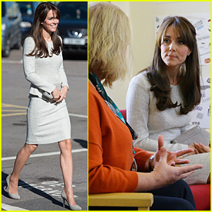 Kate Middleton Visits A Rehabilitation Center To Meet Recovering Inmates