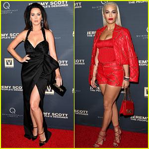 Katy Perry & Rita Ora Flaunt Lots of Leg for Jeremy Scott