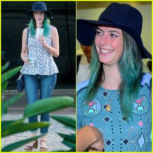 The Maze Runner's Kaya Scodelario Dyed Her Hair Blue!