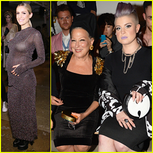 Kelly Osbourne Sits Front Row At The Blonds NYFW Show with Bette Midler!