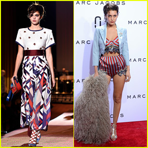 Kendall Jenner & Bella Hadid Close Out NYFW at Marc Jacobs