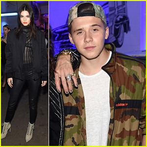 Kendall Jenner & Brooklyn Beckham Keep the Party Going After Givenchy NYFW Show