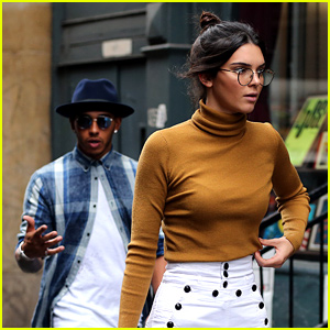 Kendall Jenner Visits Kimye's Apartment with Lewis Hamilton