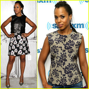 Kerry Washington Finds Her Celebrity Crush - the Pope!