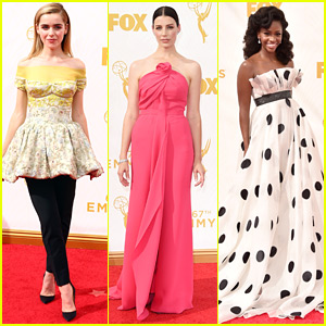 Kiernan Shipka & Jessica Pare Bring 'Mad Men' To The Emmy Awards 2015