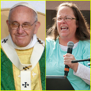 Kim Davis Had a Private Meeting with Pope Francis During His Visit to the U.S.