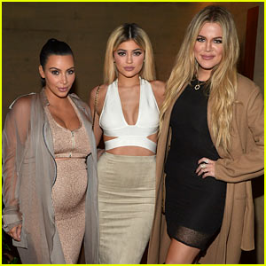 Kim Kardashian Displays Baby Bump at Her Website Launch!