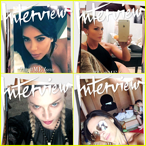 Kim Kardashian, Jennifer Lopez, & More Cover 'Interview' Magazine!