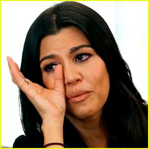 Kourtney Kardashian Breaks Down Over Scott Disick Cheating Rumors in 'KUWTK' Trailer - Watch Now