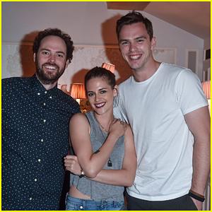 Kristen Stewart & Nicholas Hoult Dress Down for 'Equals' Venice Dinner
