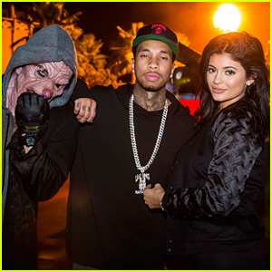 Kylie Jenner & Tyga Are Getting All Ready For Halloween!