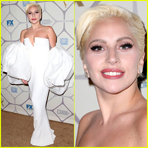 Lady Gaga Switches It Up for Fox's Emmys After Party 2015