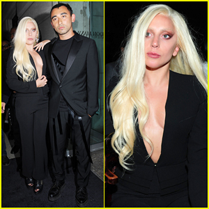 Lady Gaga Supports Stylist Brandon Maxwell's Debut Show At NYFW!