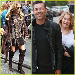 LeAnn Rimes Uses Legos to Show Her Love