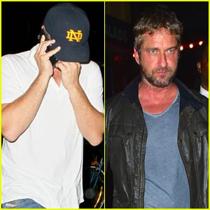 Leonardo DiCaprio & Gerard Butler Go Clubbing in the Big Apple