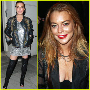Lindsay Lohan Gets Trapped In An Elevator During London Fashion Week!