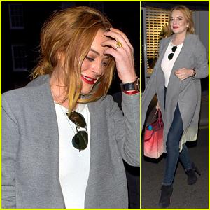 Lindsay Lohan Returns To Music on 'Danceophobia'