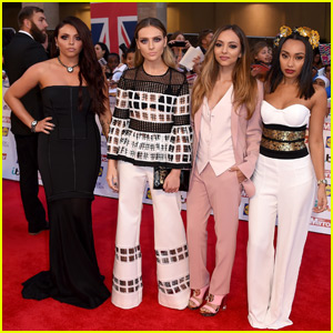 Perrie Edwards Hits Up Pride of Britain Awards With Little Mix