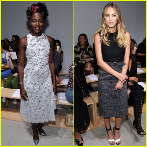 Lupita Nyong'o & Dylan Penn Are Boss Beauties for NYFW!