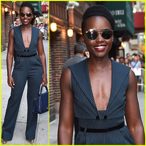 Lupita Nyong'o Shows Off Her Silly Side with Stephen Colbert