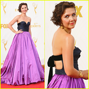 Maggie Gyllenhaal Is 'The Honourable Woman' at Emmys 2015!