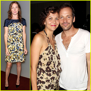 Maggie Gyllenhaal Supports Peter Sarsgaard at 'Black Mass' Screening