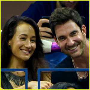 Maggie Q & Dylan McDermott Couple Up at the U.S. Open