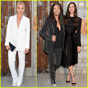 Margot Robbie Is White Hot for Givenchy with Liv Tyler