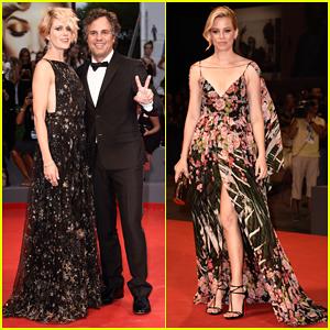 Mark Ruffalo & Wife Sunrise Coigney Bring The 'Spotlight' To Venice Film Festival!