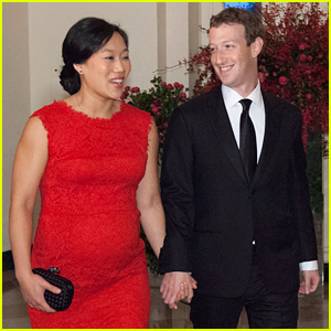 Mark Zuckerberg & Pregnant Wife Priscilla Attend State Dinner