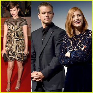 Matt Damon Leads an All-Star Cast at 'Martian' TIFF Premiere!