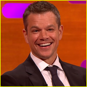 Matt Damon Reads Tweets About His Ponytail on 'The Graham Norton Show'