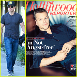 Matt Damon Opens Up About Ben Affleck's Relationship With Jennifer Lopez for 'THR' Cover
