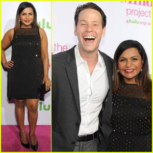 Mindy Kaling Premieres 'Mindy Project' Season Four With Hulu