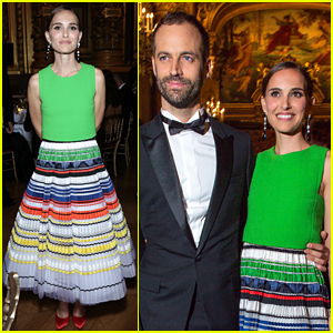 Natalie Portman Supports Hubby Benjamin Millepied at Paris Ballet's Opening Gala!