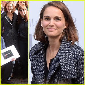 Natalie Portman Steps Out in Poland for Film Spring Open Air