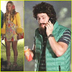 Nick Jonas Wears A Beard On 'Scream Queens' Set - See His Disguise!