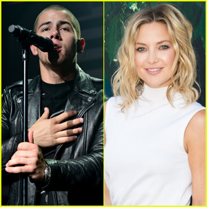 Nick Jonas Responds to Kate Hudson Romance Rumors
