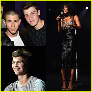 Nick Jonas & Shawn Mendes Perform at Island Records/Marriott Rewards Concert!