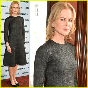 Nicole Kidman Admits She Was Nervous to Return to the Stage