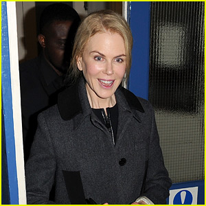 Nicole Kidman Keeps In Touch With Her Kids Over Text