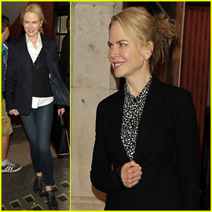 Nicole Kidman Loves Playing On the Floor with Her Kids