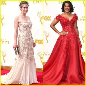 Niecy Nash & Anna Chlumsky Bring Comedy to Emmys 2015 Red Carpet